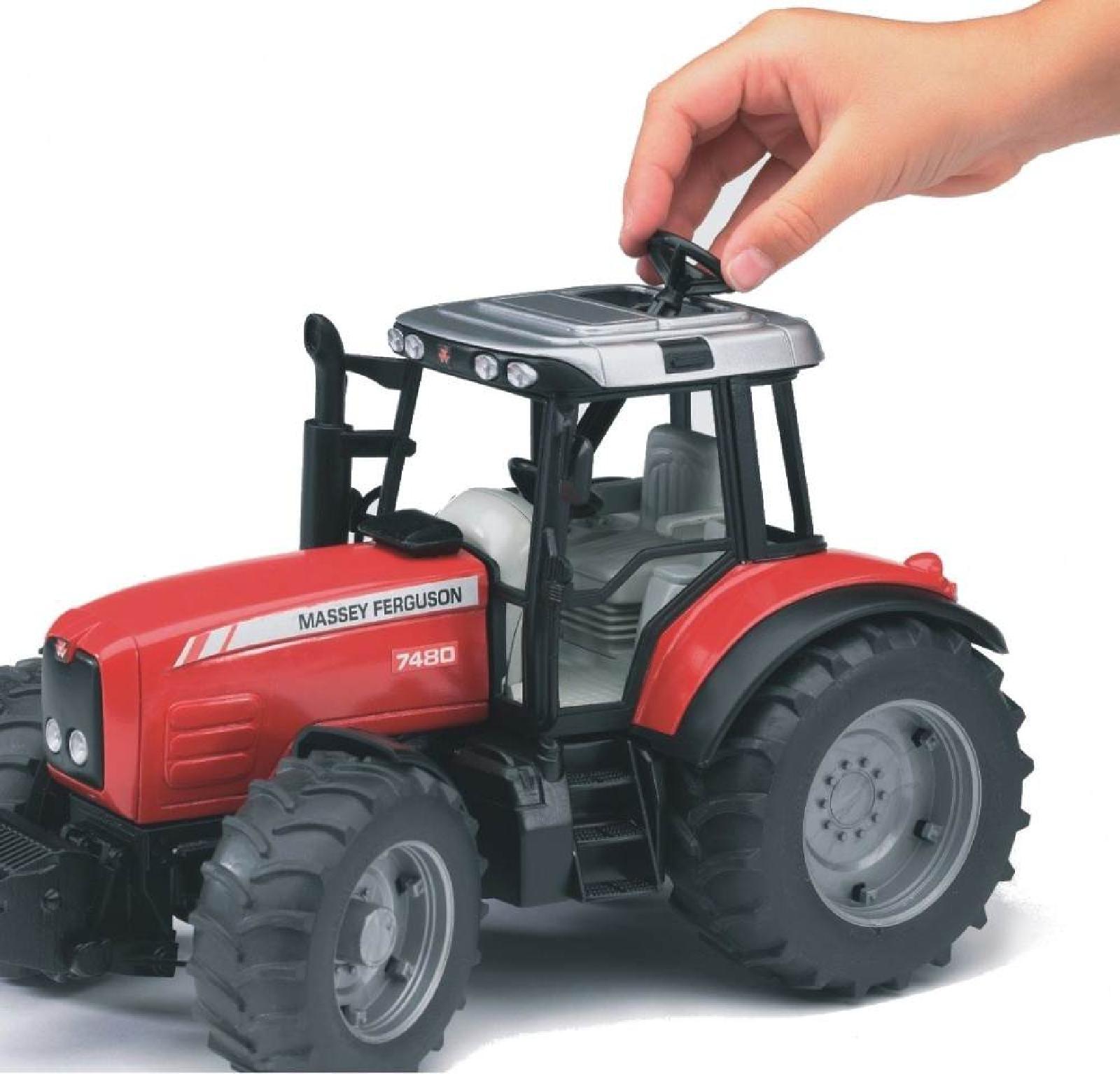 Trat Er Toy : Bruder toys pro series massey ferguson tractor