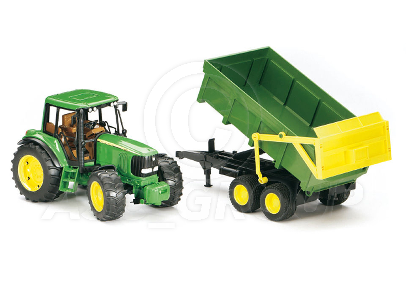John Deere Trailor : Bruder toys pro series john deere tractor