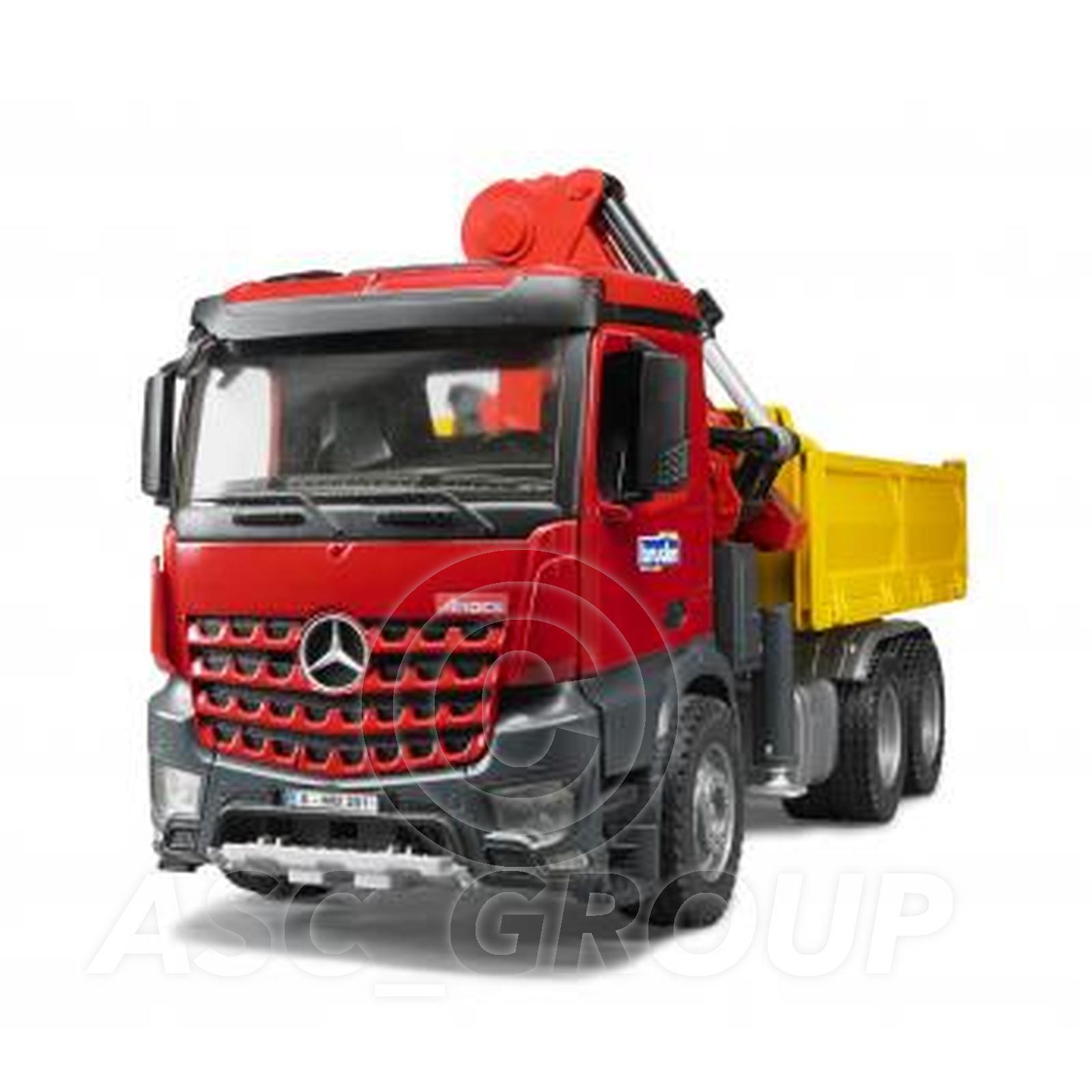 Bruder toys 03651 pro series mercedes benz mb arocs truck for Mercedes benz truck toys