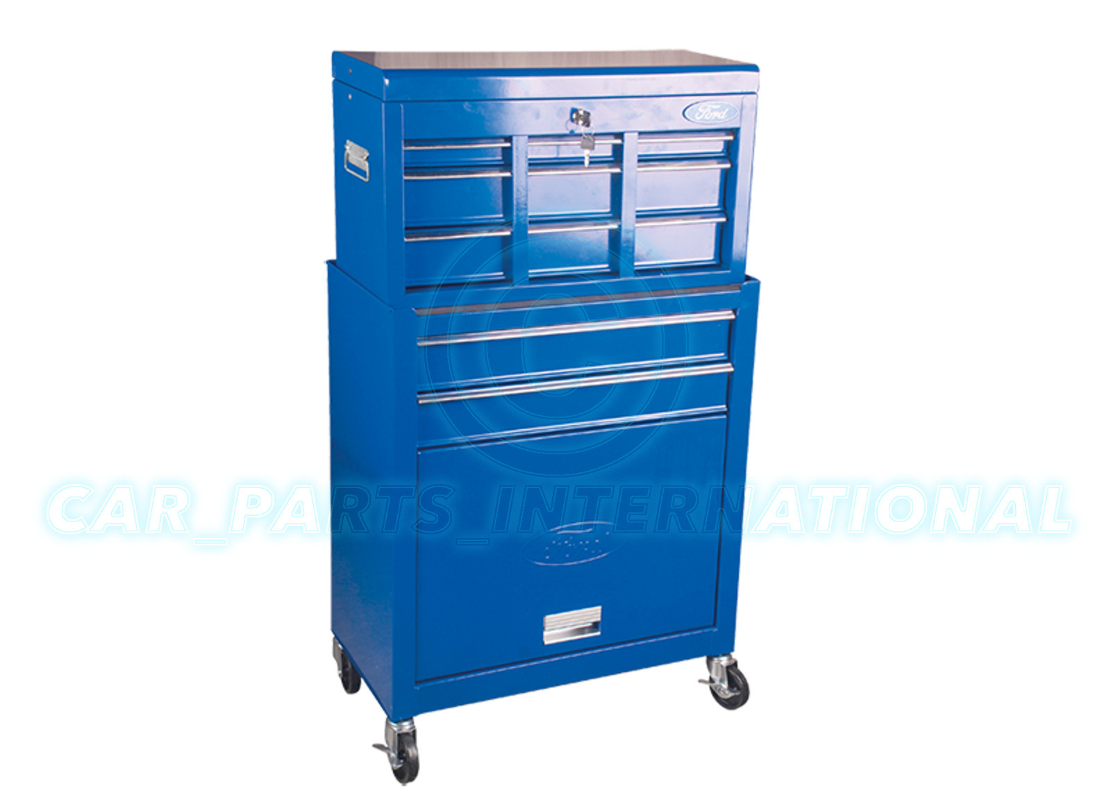 Ford Tool Box : Ford tools metal tool box cabinet with drawers top