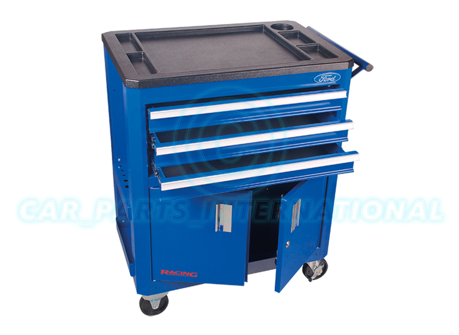 Ford Tool Box : Ford tools racing roller metal tool box cabinet with