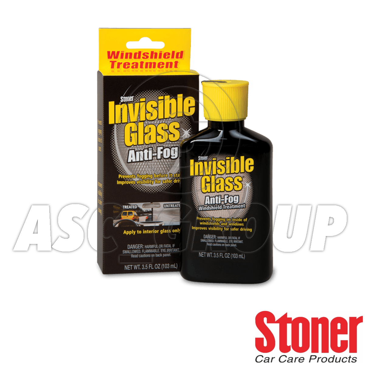 stoner invisible verre avec antibrouillard pare brise traitement 103ml ebay. Black Bedroom Furniture Sets. Home Design Ideas