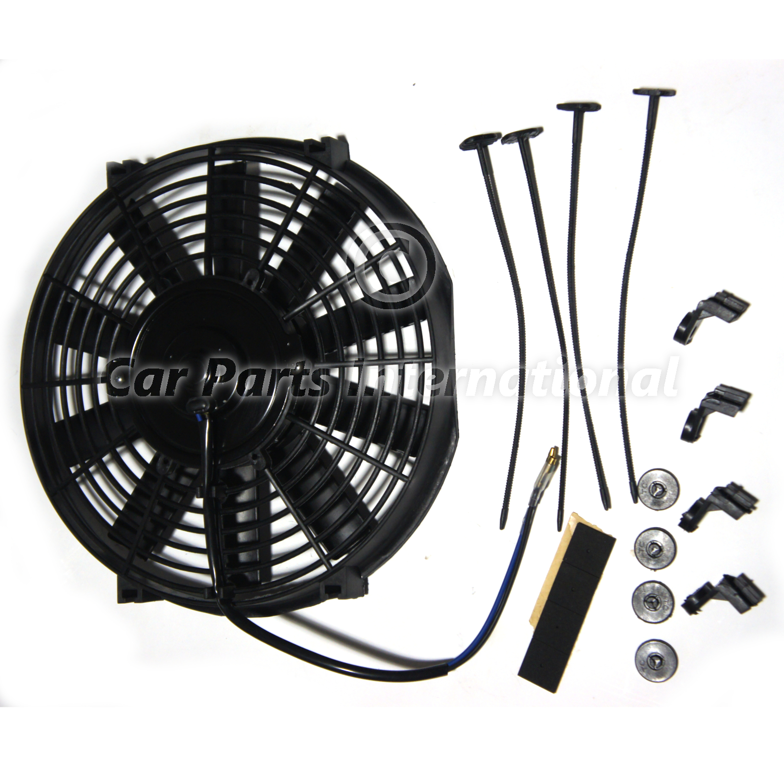 cooling fan 10 250mm universal 12v electric cooling fan perfect for #847347