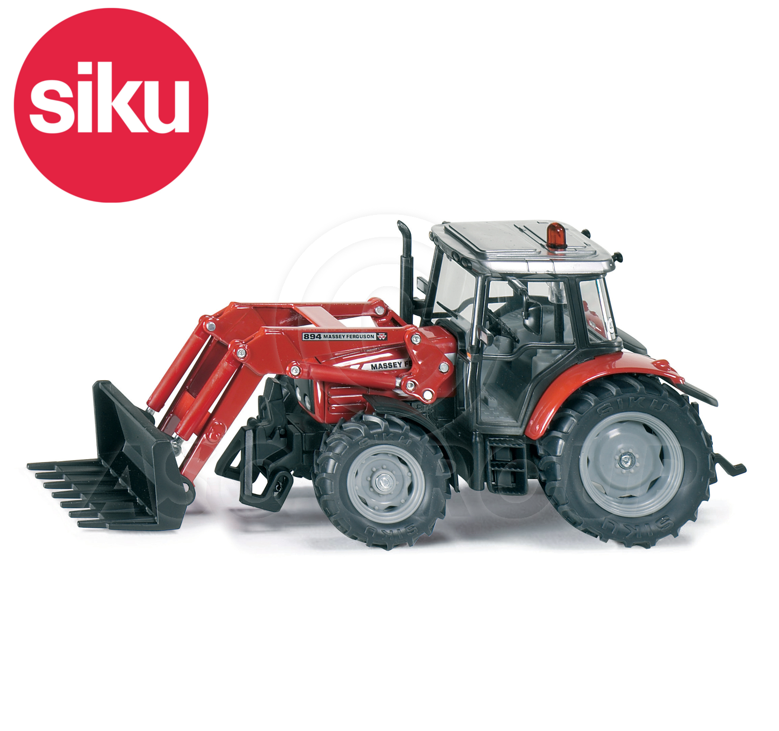 Massey Ferguson 32 Loader Parts : Siku no  massey ferguson tractor loader