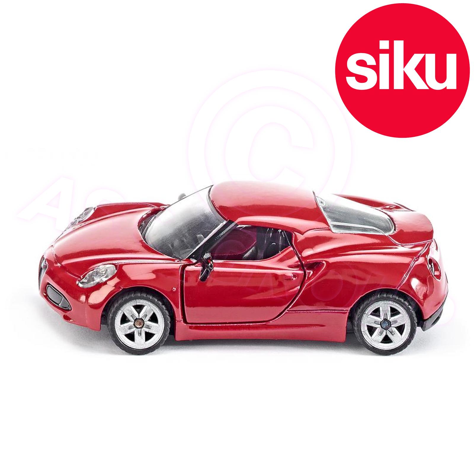 Siku No 1451 Alfa Romeo 4C SportsCar Dicast Metal Model