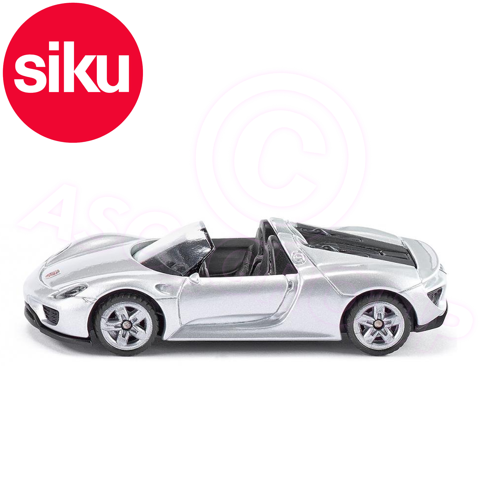 Siku No 1475 Porsche 918 Spyder Convertible Sports Car