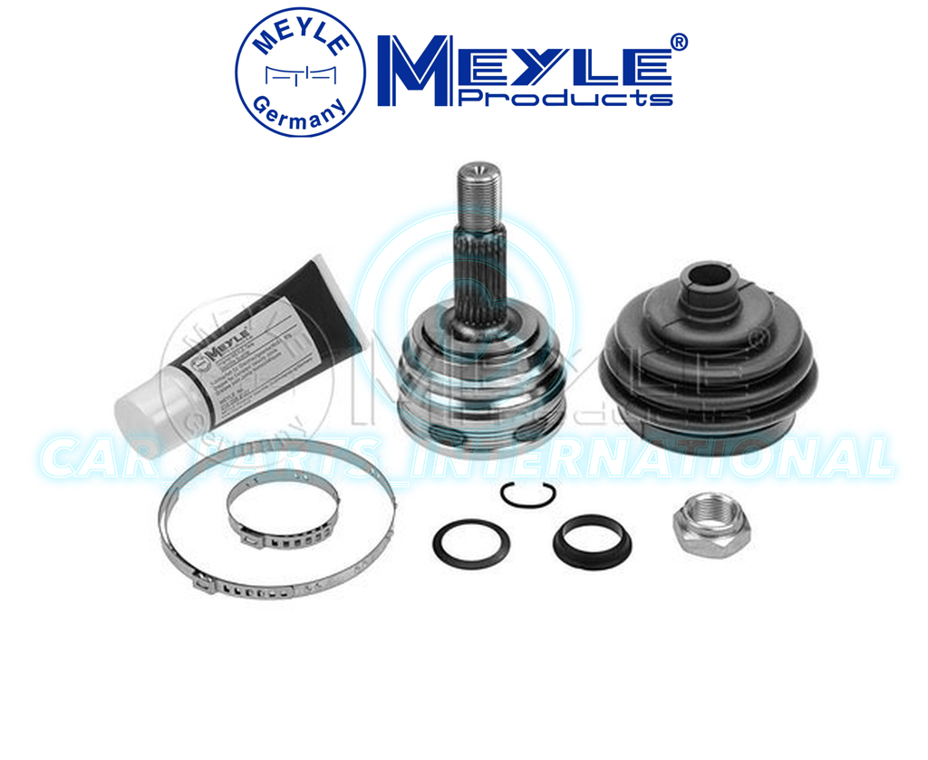 meyle cv joint kit drive shaft joint kit inc boot grease no 100 498 0011. Black Bedroom Furniture Sets. Home Design Ideas