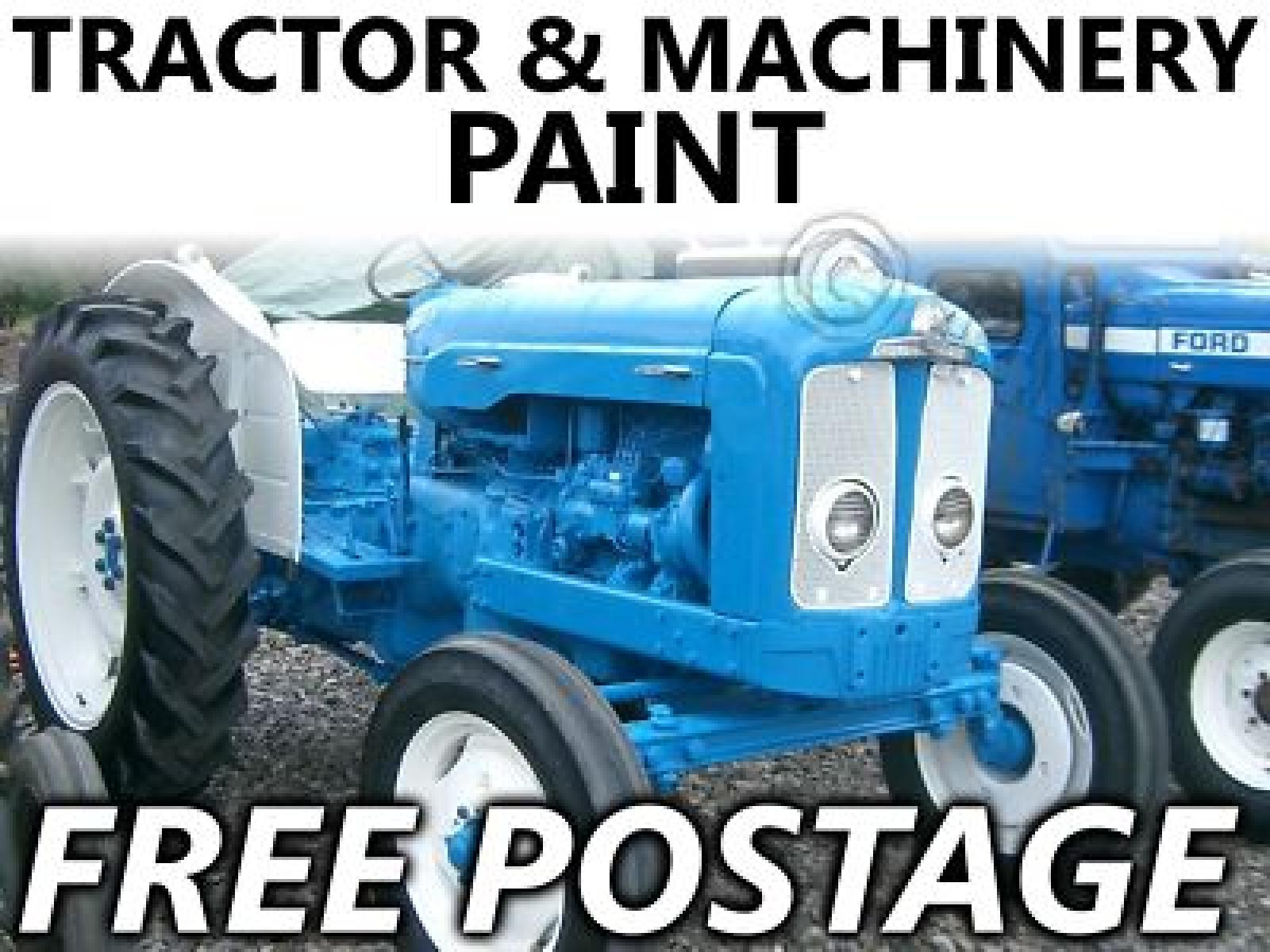 Ford Empire Blue Tractor Paint