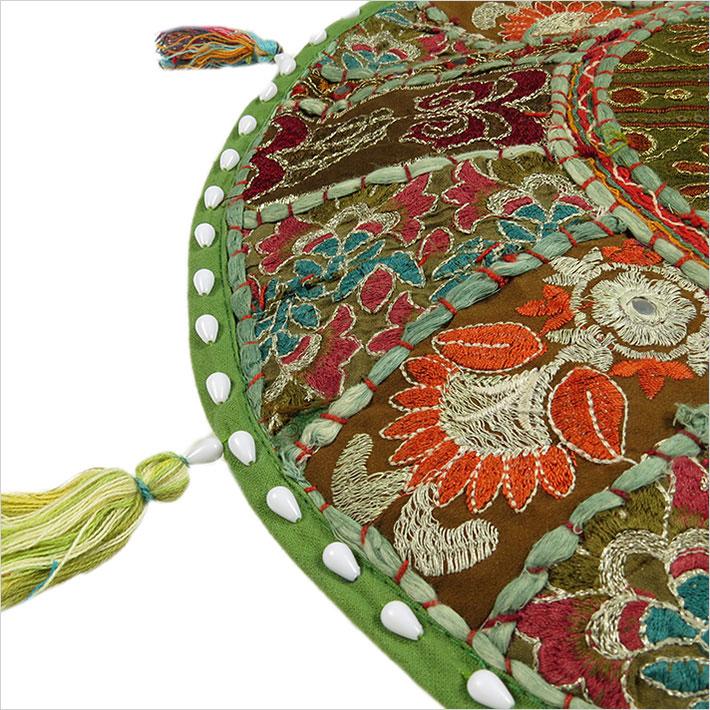 17 rund dekorativer boden sitz kissenbezug berwurf boho for Boden direkt versand