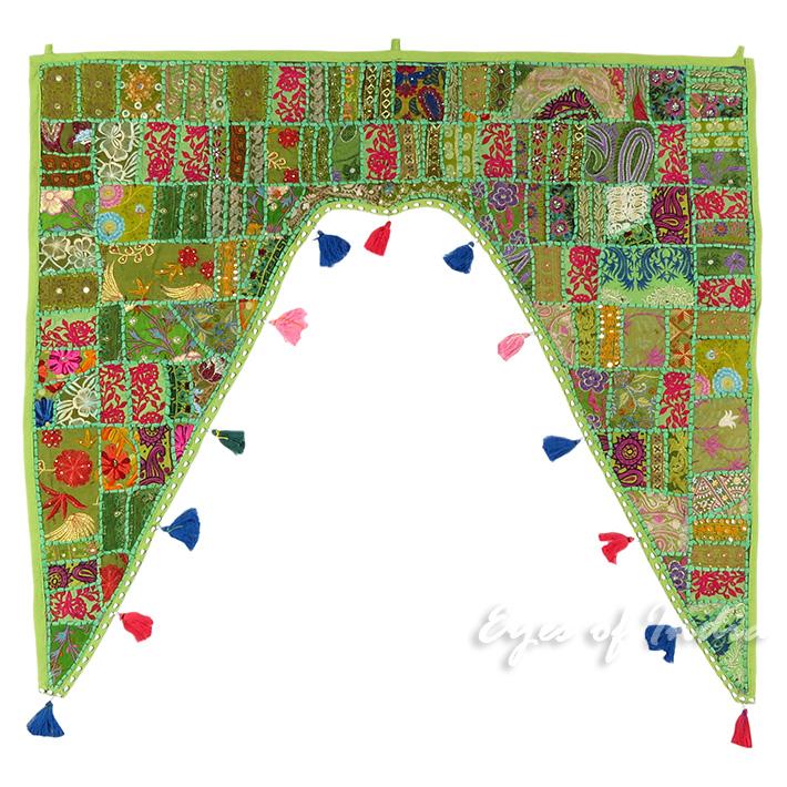 40 vert d corative porte fen tre tour de lit tapisserie tenture mural ebay. Black Bedroom Furniture Sets. Home Design Ideas
