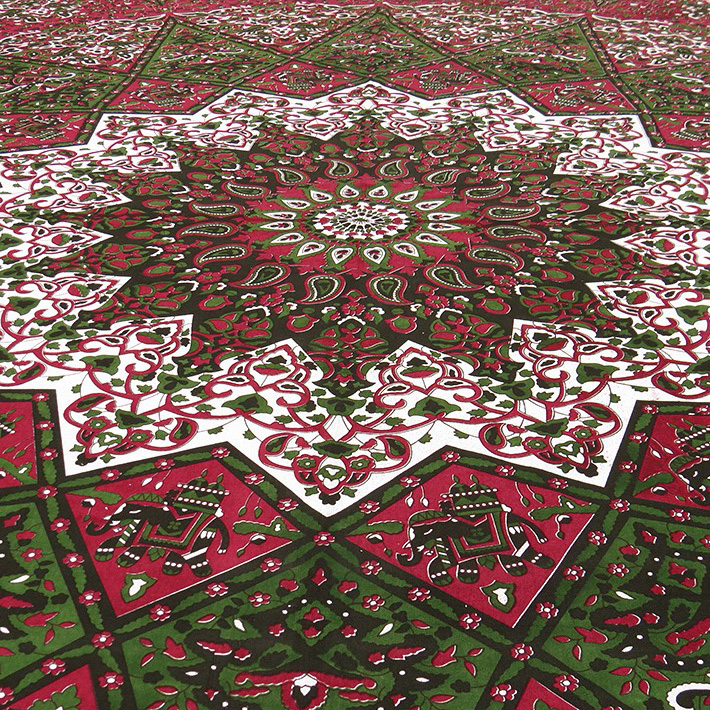 k nigin weinrot rot hippie boho bohemian indische mandala wandbehang tagesdecke ebay. Black Bedroom Furniture Sets. Home Design Ideas