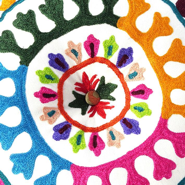 24 wei rund dekorativer boden sitz kissenbezug bohemian for Boden direkt versand