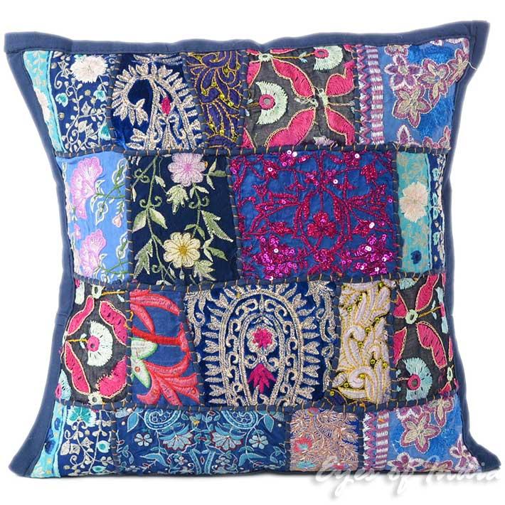 Colorful Bohemian Throw Pillows : 16