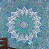 Star Mandala Tapestry Bedspread Wall Hanging - Queen/Double