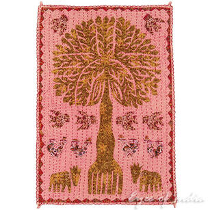Cutwork Tree of Life Tapestry Decorative Wall Hanging - 24 X 34""