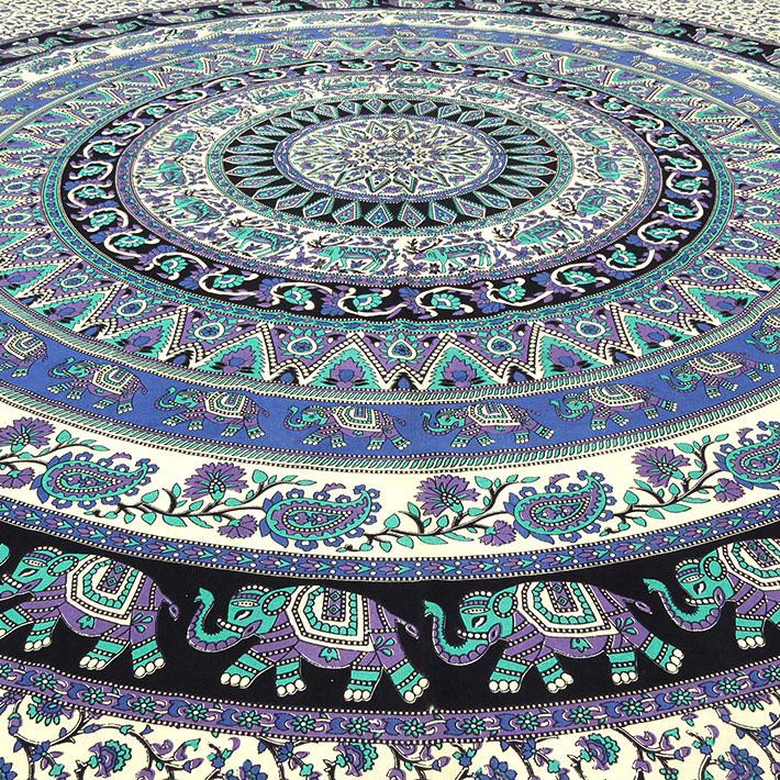 k nigin schwarz hippie indische mandala wandbehang wand. Black Bedroom Furniture Sets. Home Design Ideas