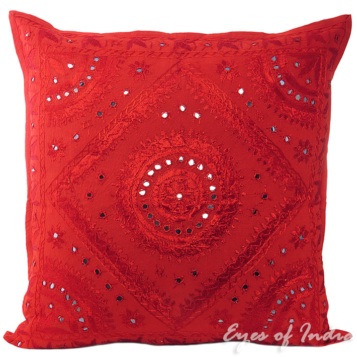 Big Red Decorative Pillows : 24