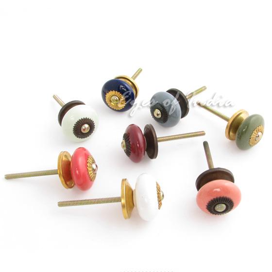 painted cabinet cupboard dresser drawer knobs pulls handles ebay