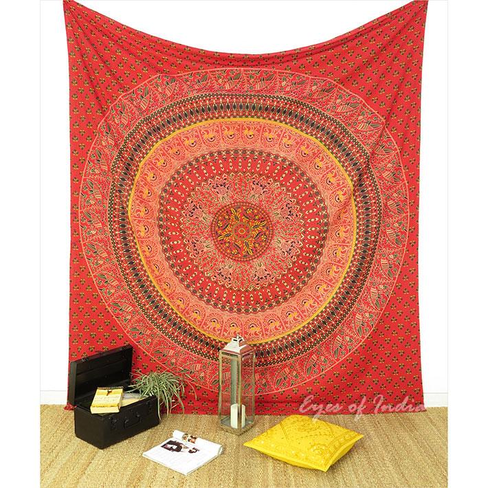 K nigin rot elefant indische mandala wandbehang strand for Lesesessel rot