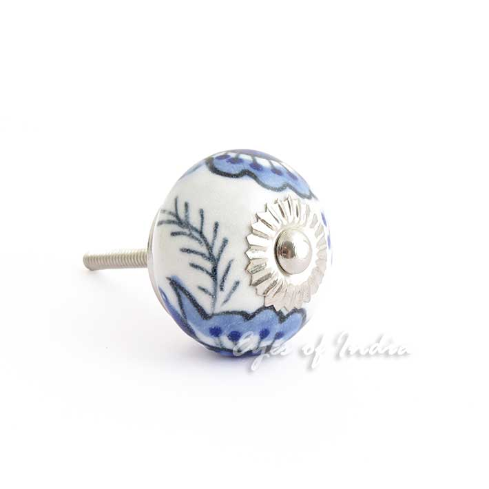 blau indigo t r kommode schrank kn pfe griffe shabby chic dekorativ farbe ebay. Black Bedroom Furniture Sets. Home Design Ideas