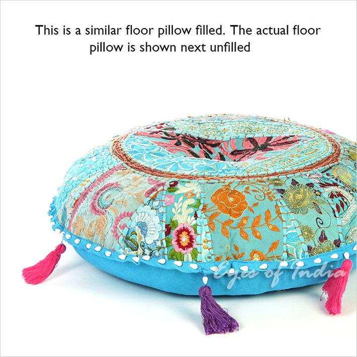 Giant Bohemian Floor Pillows : Large Selection 17