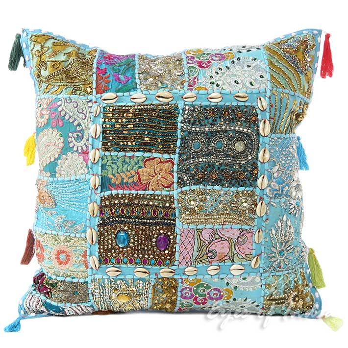 How To Make A Patchwork Throw Pillow : 20