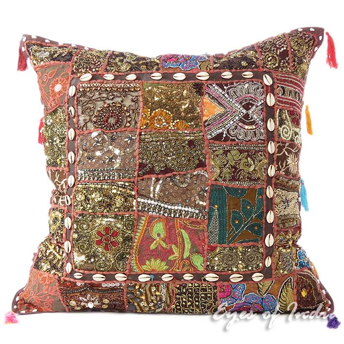 Large Brown Throw Pillows : 24