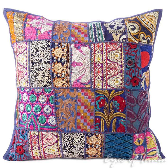 20 blu patchwork copridivano fodera per cuscino divano boh mien boho indian ebay - Divano traduzione inglese ...