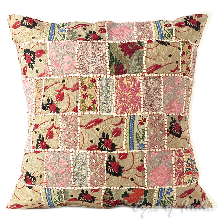24 gro wei patchwork dekorativ sofa kissenbezug boho for Boho dekoration