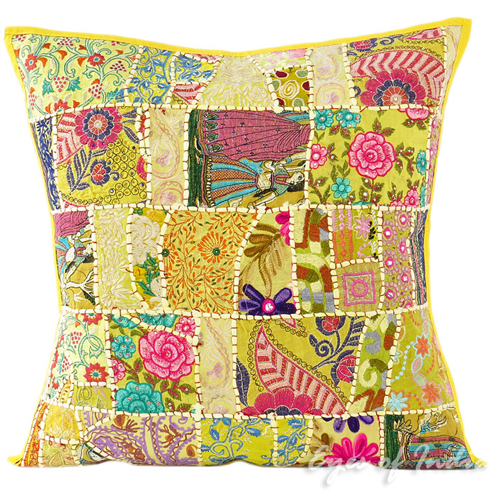 Big Yellow Throw Pillows : 24