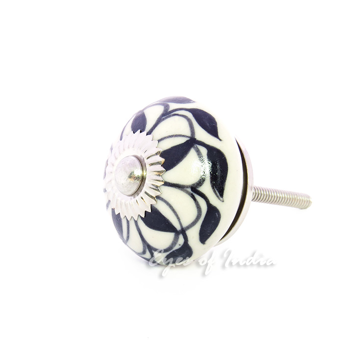 decorative ceramic cabinet dresser cupboard door knobs handles pulls