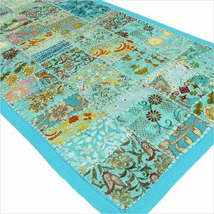 Patchwork Decorative Tapestry Wall Hanging Runner - 20 X 80""