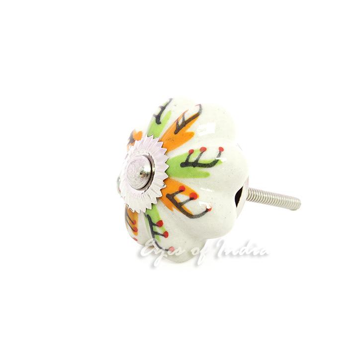 gr n orange keramik dekorativ boho unkonventionell indian. Black Bedroom Furniture Sets. Home Design Ideas