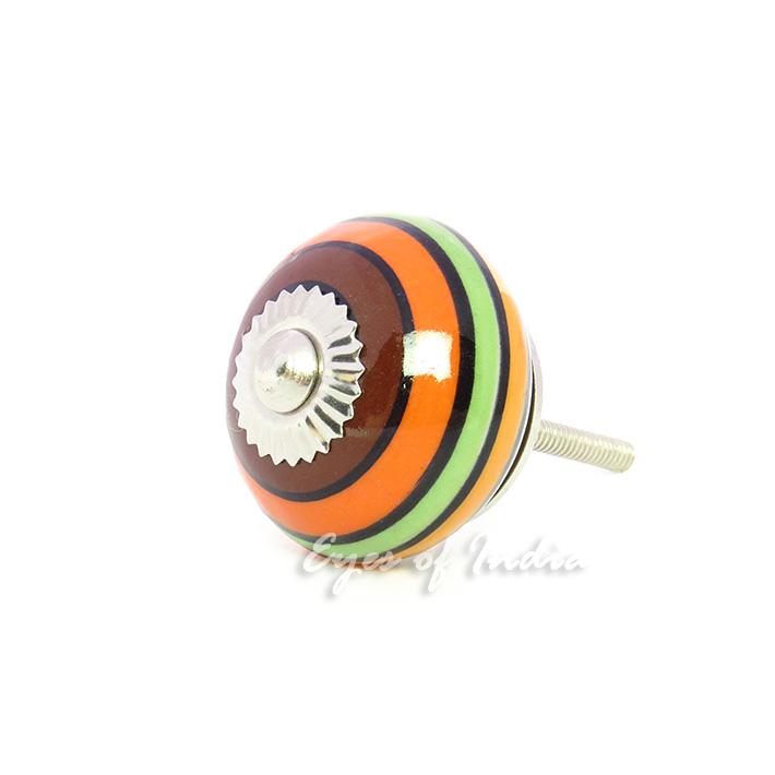 orange gr n keramik dekorativ schrank kommode t r schrank. Black Bedroom Furniture Sets. Home Design Ideas