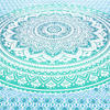 Colorful Ombre Mandala Wall Hanging Tapestry Bedspread - Queen/Double