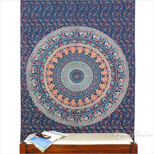 Mandala Tapestry Wall Hanging Bedspread - Twin/Single
