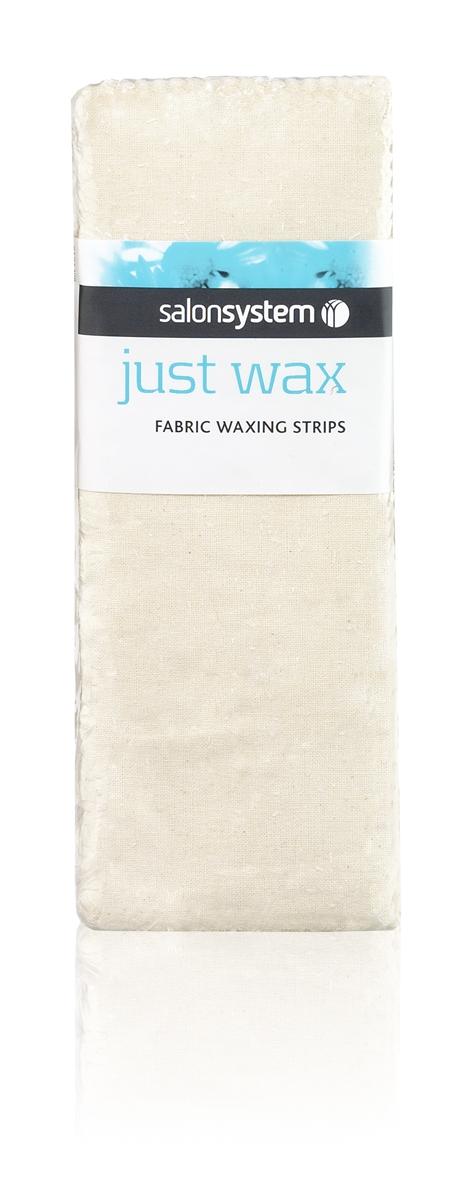 Fabric strips for waxing