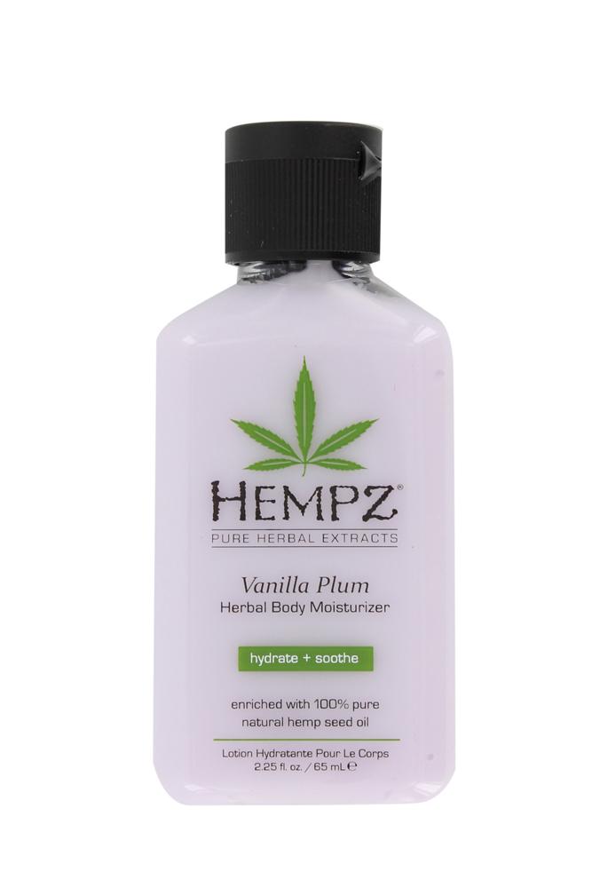 Hempz vanilla plum skin body daily herbal moisturiser