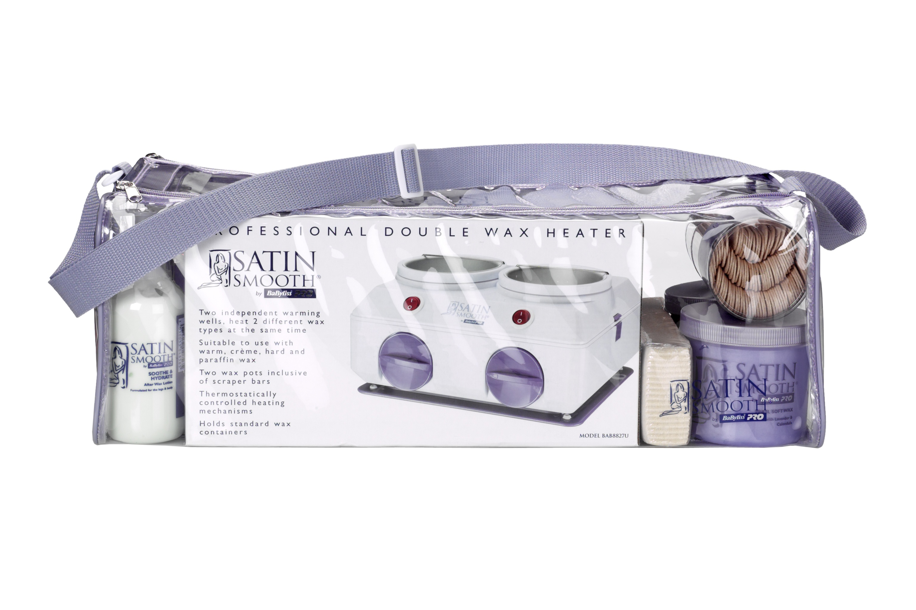 Babyliss-Pro-Satin-Smooth-Wax-Cream-Honey-Body-Leg-Hair-Removal-Warmer-Waxing