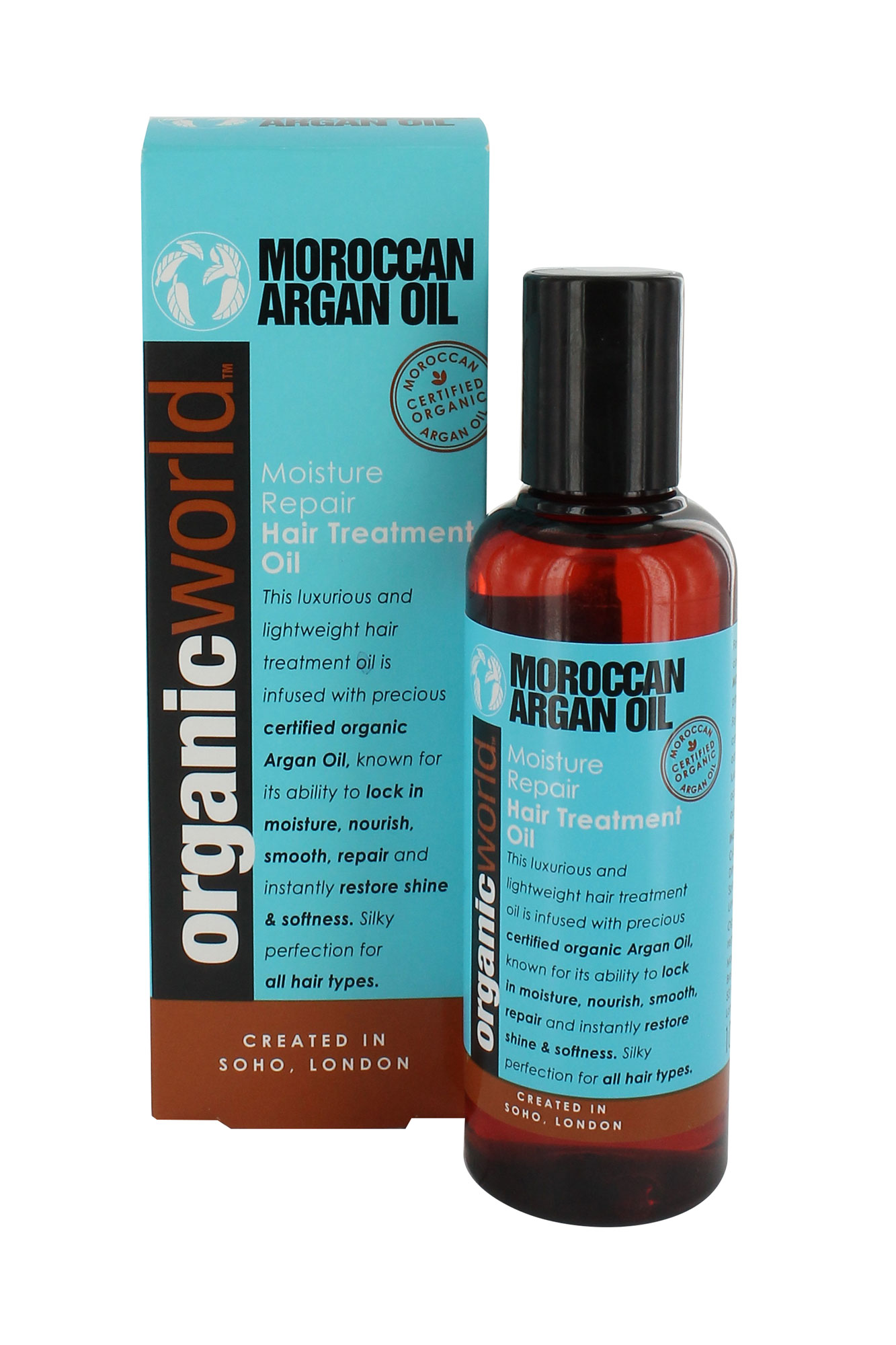 natural world argan oil of morocco moisture repair hair. Black Bedroom Furniture Sets. Home Design Ideas