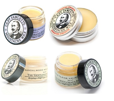 Captain Fawcetts The Gentlemans Male Moustache Wax Collection 15ml Male Grooming