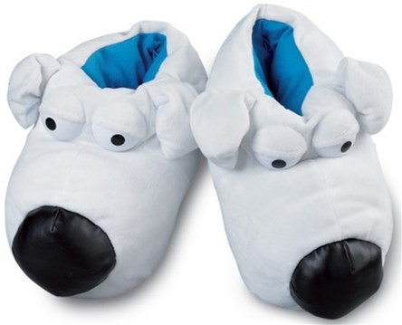 035d0b9152f20f Family guy slippers - Slippers : Mince His Words