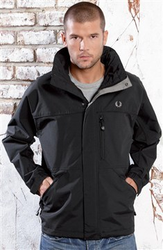 Fred Perry 'Offshore' Jacket - Black