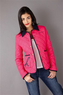 Henleys TINNERS Women&amp039s Quilted Jacket - Hot Pink | eBay