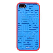 Retro Maze Case iPhone 5 Compatible