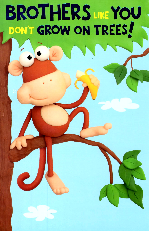Funny monkey birthday cards – Funny Monkey Birthday Cards