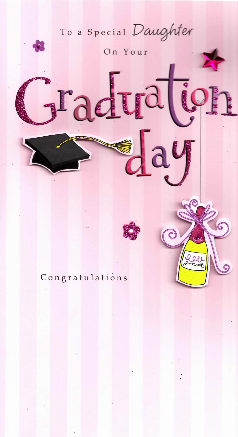 Special Graduation Gifts From Mother To Daughter : Congratulations Special Daughter Graduation Greeting Card Cards ...