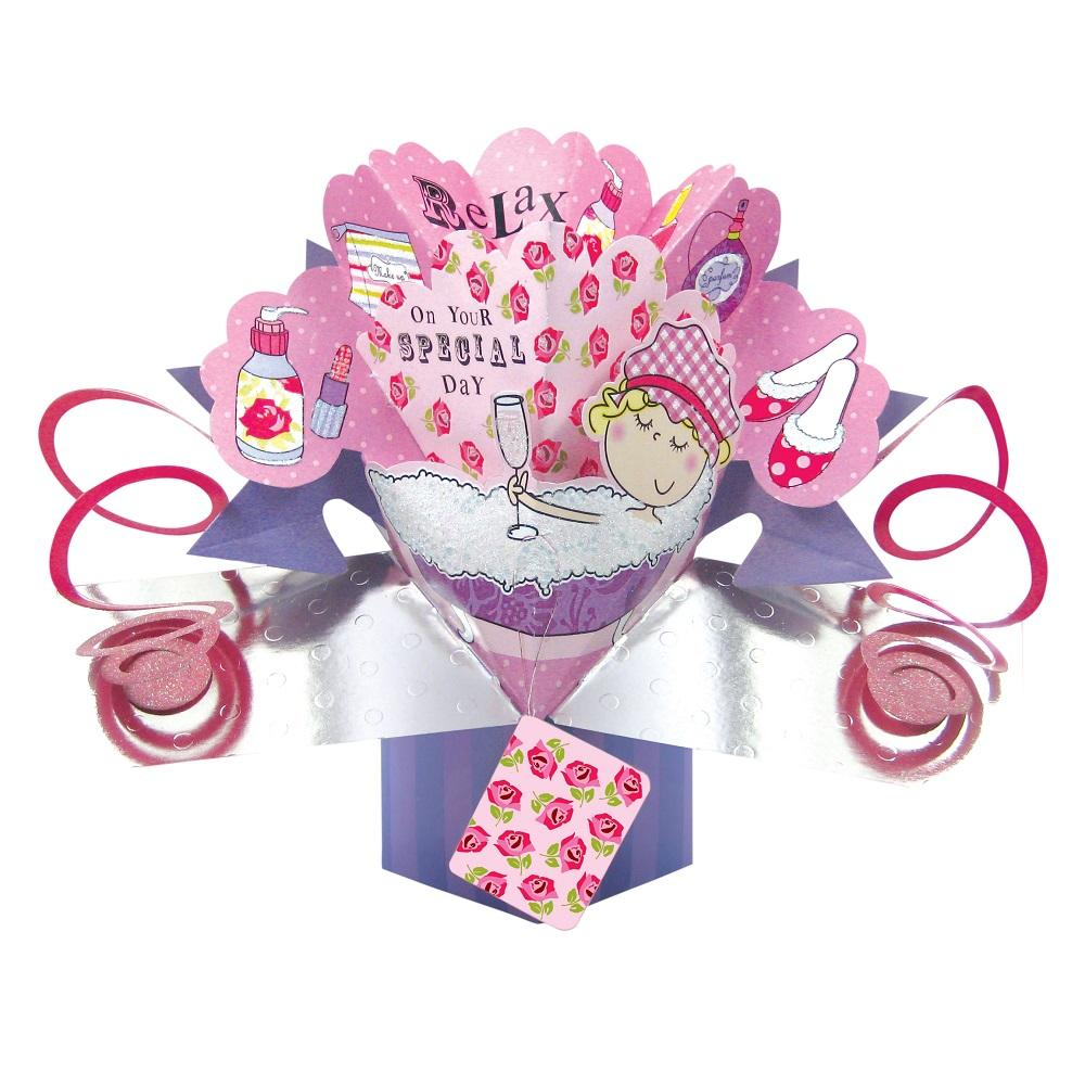 pop up birthday cards for mom - relax on special day pop up greeting card cards love kates