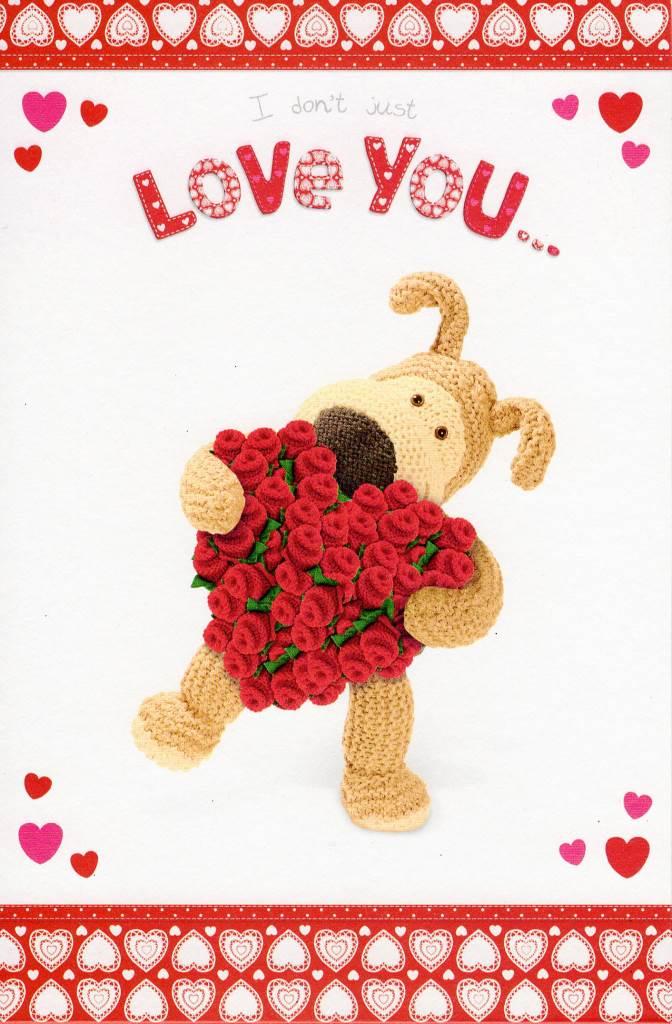 I Love You This Much Pop Out Boofle Valentines Card Valentine – Pop out Valentines Day Cards