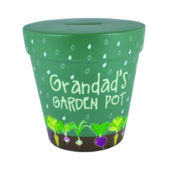 Grandad's Garden Fund Flower Pot Of Dreams Money Pot